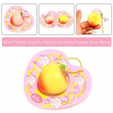 Mini Cute Lovely Super Soft Peach Squishy Scent Slow Rising Pinch Relax Kid Toy
