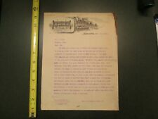 The Van Brunt Manufacturing Company Horicon Wisconsin 1910 Letterhead 167