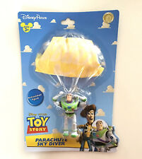 Disney Parks Toy Story Buzz Lightyear Parachute Sky Diver Articulated Figure NEW