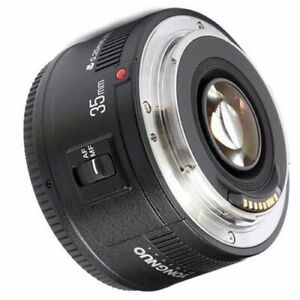Wide Angle 35mm F2 Lens for Canon Rebel EOS 1000 1000D T6 SL1 T5 1200D TSi T3 T6
