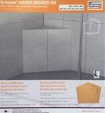 """Schluter Kerdi Shower Bench Triangular 16"""" x 20"""" NEW"""