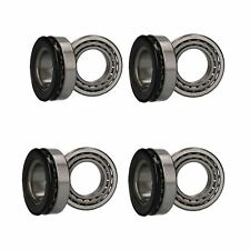 4 x Wheel Bearing Kit for Indespension Flatbed Twin Axle Trailers