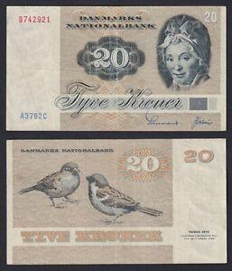 Danimarca 20 kroner 1972 BB/VF  B-02