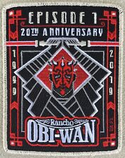 2019 Star Wars Celebration Chicago Rancho Obi-Wan Large Member Exclusive Patch