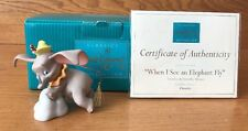 DUMBO - WALT DISNEY CLASSIC COLLECTION 11K 412830 FIGURINE WITH COA