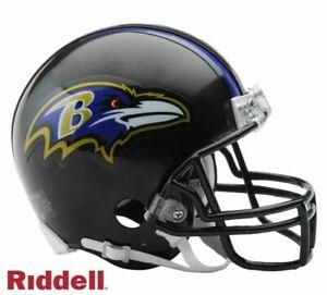 Baltimore Ravens VSR4 Riddell Mini Helmet New in box