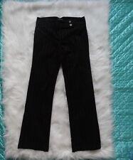 Women's  Black Pinstripe Dress Pants Size 7