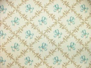 4 Metre iLiv Trellis Eau de Nil Floral Curtain Upholstery Cushion Blind Fabric