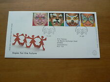 2001 Royal Mail FDC: Hopes for the Future