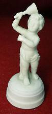 """LLADRO porcelaine Bisque CHERUB Ringing a BELL Figurine #94 - 4-3/8"""""""