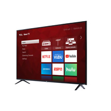 TCL 65-Inch 4K UHD LED Roku Smart TV HDR