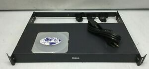 DELL 71PXP 023EEH 8-PORT KVM SWITCH W/ RACK