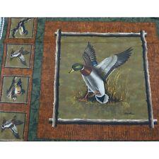 Sale Duck Landing Cushion Fabric Panel 100% Cotton Fabric