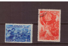 Russia USSR 1947 Women's Day  set used CTO stamps