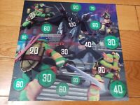 TEENAGE MUTANT NINJA TURTLES  3-D PICTURE- Fast shipping