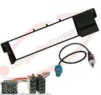 BMW 3er E46 Radioblende Radioadapter ISO Antennen Adapter Radio Blende Rahmen