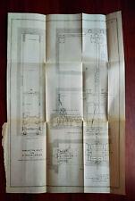1899 Chain Ammunition Hoist for 10 inch U.S. Miltary Rifles Diagram Sketch