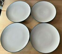 "NORITAKE STONEWARE COLORWAVE BLUE #8484 SALAD PLATES 8.5"" SET OF (4)"