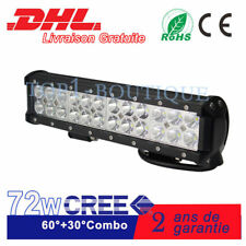 "12"" Rampe 72W barre LED Phare de travail 4X4 tout-terrain véhicule Lampe SUV 12V"