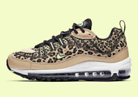 Women's Nike Air Max 98 ANIMAL PACK LEOPARD PRINT BEIGE BLACK BV1978-200 sz 5-11