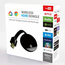 Chromecast Ultra Premium Tv Streaming Device 1080P Hdr WiFi Ethernet For Google