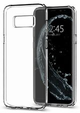 Custodia Samsung Galaxy S8 2017 Cover Trasparente Protettiva Spigen in TPU