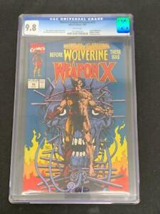 MARVEL COMICS PRESENTS #72, WEAPON X (1991), Marvel Comics, CGC 9.8, WOLVERINE