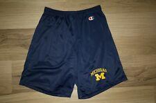 Vintage Champion University of Michigan Athletic Shorts Men's M (32-34) Navy