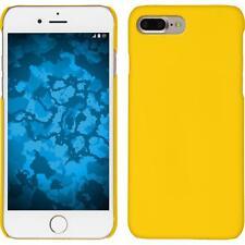 Funda Rígida Apple iPhone 7 Plus / 8 Plus goma amarillo