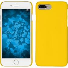 Funda Rígida Apple iPhone 7 Plus - goma amarillo protector de pantalla