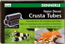 Dennerle Crusta Shrimp Tubes S3 & Fish Fry Hides - Aquarium Decoration Cave