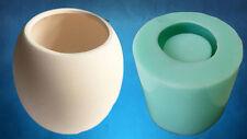 Jm Sphere Planter Mold - Silicone - Geometric Mold Cast Concrete-Resin-Wax-Soap