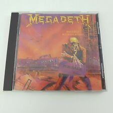 Megadeth – Peace Sells... But Who's Buying? CD (1986) Capitol – 0777 7 4637022