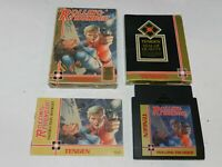 Rolling Thunder Tengen Nintendo NES Game Complete in Box Tested 1 Owner