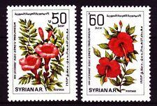 Syrien Syria 1983 ** Mi.1579/80 Blumen Flowers Damaskus Blüten Blossoms