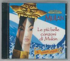 Mulan, Le più belle canzoni di Mulan, Walt Disney I CLASSICI, CD