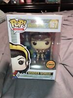 Funko Pop! Heroes DC Comics Bombshells #167: WONDER WOMAN CHASE! FREE PROTECTOR