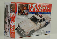Movie The Dukes of Hazzard General Lee Rosco Police car Kit Bausatz 1:25 mpc