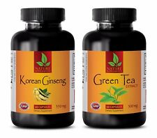 Male enchantment - KOREAN GINSENG – GREEN TEA EXTRACT COMBO - red maca root pill