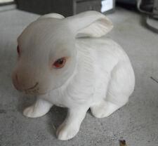 """Vintage Ceramic Kramlik 194/1000 Signed Rabbit Figurine 3 1/4"""" Tall"""