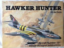 Hawker Hunter in Action Squadron Signal Book # 1121 Very good condition