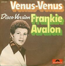 """FRANKIE AVALON - VENUS VENUS / DISCO VERSIÓN 7"""" SINGLE (A 529)"""