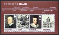 GR BRITAIN 2010 MS3094 The Age of the Stuarts, Mini-Sheet, S/S Mint NH