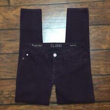 DL1961 Amanda Skinny Jeans Size 28 Womens 360 Comfort 4 Way Stretch Ruby Purple