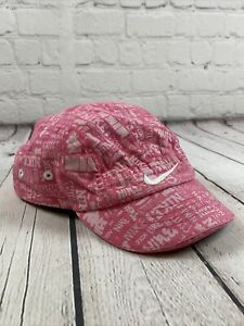 Nike Infant Adjustable Hat Pink And White