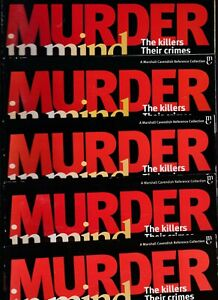 Various Issues of MURDER IN MIND Magazine from #1 to #90 circa 1999