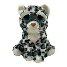 "Feisty Pets Lethal Lena Plush Snow Leopard Stuffed Animal 8"" 2015"