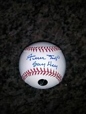 WILLIE MAYS GIANTS SAY HEY AUTHENTICATION SIGNED AUTOGRAPH  AUTO ROML BALL CLEAN