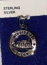 Souvenir Ster Silver Charm Pendant Noc Vintage Crea-D 00004000 9;or Mississippi Queen Boat