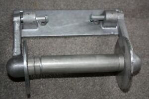 NOS Galvanized Metal Toilet Paper Holder 1950's New In Box L W Manufacturing